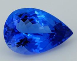2.90CT 11X8MM AAAA Excellent Cut Rare Violet Blue Tanzanite -TN69