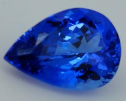3.25 CT D Block  Excellent Cut Rare Violet Blue Tanzanite - TN70