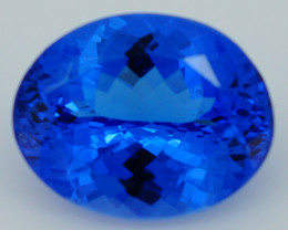 2.86CT 10X8MM AAAA Excellent Cut Rare Violet Blue Tanzanite -TN75