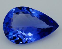 2.66 CT Royal Blue Rare Excellent Cut Natural Tanzanite - TN78