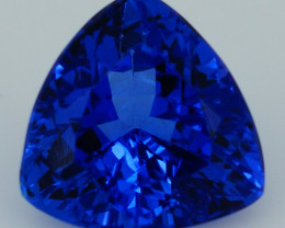 1.86CT 8X8MM AAAA Excellent Cut Rare Violet Blue Tanzanite -TN79