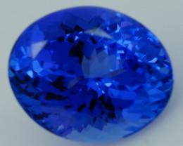 3.65 CT AAAA Excellent Cut Rare Violet Blue Tanzanite - TN81
