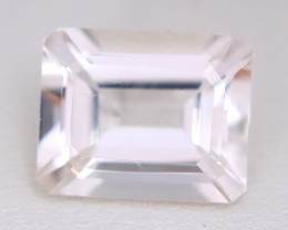 Morganite 4.08Ct VS Octagon Cut Natural Light Pink Morganite B1006