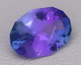 Tanzanite 1.18Ct VVS Master Cut Natural Purplish Blue Tanzanite B1013