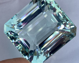 110.50 carat Natural Aquamarine gemstone.