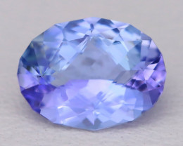 Tanzanite 1.51Ct VVS Master Cut Natural Purplish Blue Tanzanite C1105