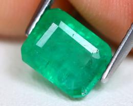 Zambian Emerald 1.89Ct Octagon Cut Natural Green Color Emerald B1104