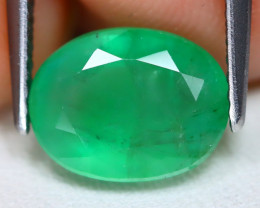 Zambian Emerald 2.48Ct Oval Cut Natural Green Color Emerald B1108