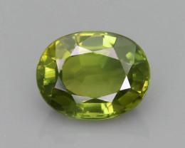 Sapphire 1.67 ct Unheat Green Color SKU.36