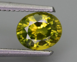 Green Sapphire 1.86 ct Untreated Thailand Mined SKU.36