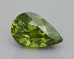 Green Sapphire 1.71 ct Untreated Thailand Mined SKU.36
