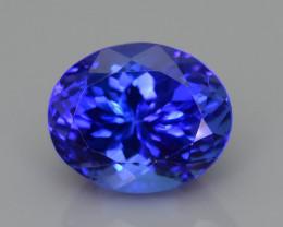 AAA Grade 6.57 ct Tanzanite eye catching Color SKU-16