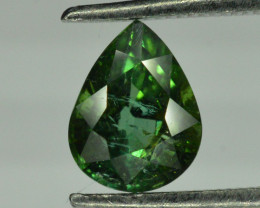 1.25 ct Green Tourmaline From Afghanistan Pear Shape