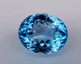 10Crt Blue Topaz Natural Gemstones JI03