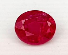 0.61Crt Natural Ruby Mozambique Natural Gemstones JI03
