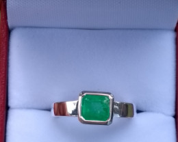 Colombian emerald Ring from Muzo