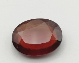 Hessonite, 4.45ct, pretty gemstone grown up in Mozambique