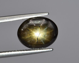 Natural Gold Sheen Star Sapphire 6.24 Cts from Thailand