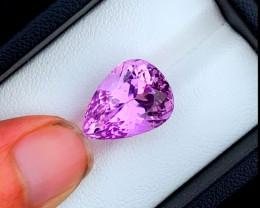 NR 11.35 cts Natural Pink Kunzite Gemstone