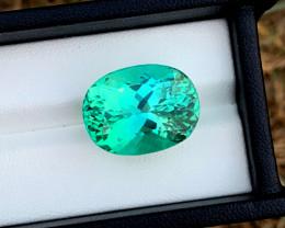 NR 27.35 Carats Amazing Green Spodumene Gemstone