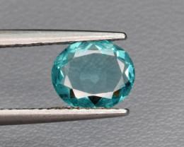 Natural Apatite 0.99 Cts Excellent Paraiba Color Gemstone