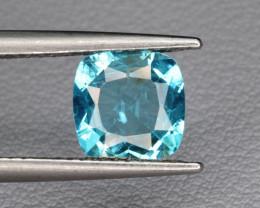 Natural Apatite 1.31 Cts Excellent Paraiba Color Gemstone