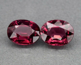 3.15ct t.w. VS-VVS Umbalite  Garnet 8.0 x 6.2 mm