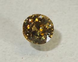 4.06ct Unheated Golden Yellow Zircon