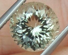 2.64cts  Green Prasiolite,  Precision Cut
