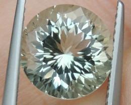 3.18cts  Green Prasiolite,  Precision Cut