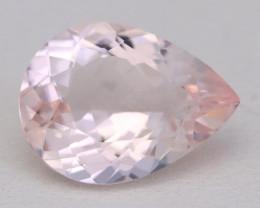 3.52Ct Natural Sweet Pink Morganite VVS Pink Beryl Madagascar B1211