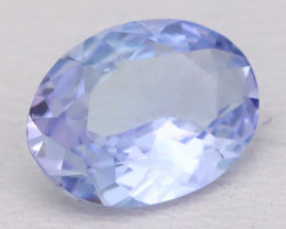 Tanzanite 0.96Ct VVS Oval Cut Natural Purplish Blue Tanzanite B1212