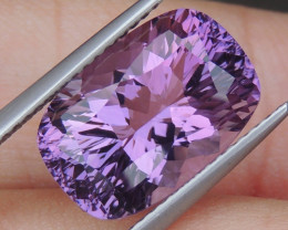 6.66cts, Amethyst,  Top Cut, Clean, Untreated,