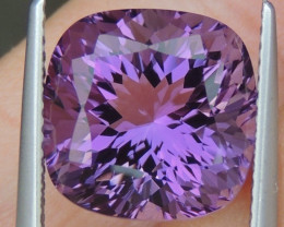 6.76cts, Amethyst,  Top Cut, Clean, Untreated,