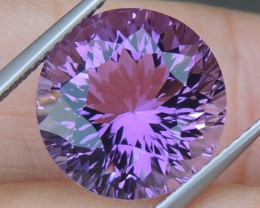 7.26cts, Amethyst,  Top Cut, Clean, Untreated,
