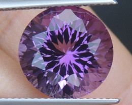 7.35cts, Amethyst,  Top Cut, Clean, Untreated,