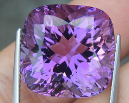 26.56cts, Amethyst,  Top Cut, Clean, Untreated,