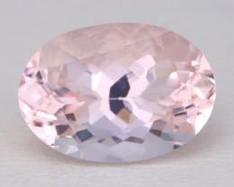 3.47Ct Natural Sweet Pink Morganite VVS Pink Beryl Madagascar C1216