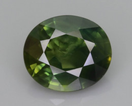 Green Sapphire 2.14 ct Untreated Thailand Mined SKU.36