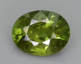 Green Sapphire 2.16 ct Untreated Thailand Mined SKU.36