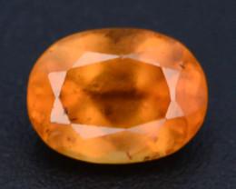 Top Color 1.30 ct Natural Hessonite Garnet ~ T