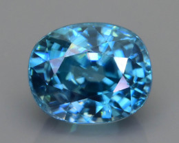 AAA Brilliance 5.40 ct Blue Zircon SKU.16