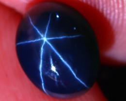 Star Sapphire 3.63Ct Natural 6 Rays Blue Star Sapphire D1606/A39