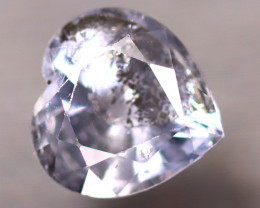 Unheated Sapphire 1.66Ct Natural Heart Shape Purple Sapphire D1611/B32