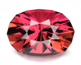 7.63 Ct Tourmaline Master Cut With Top Luster