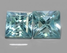 2.25 CTS AWESOME SPARKLE NATURAL RARE BEST BLUE ZIRCON~EXCELLENT!