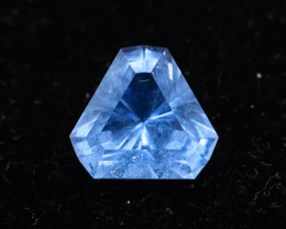 Trillion Cut 2.40  Ct Natural Ocean Blue  Aquamarine - G