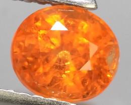 1.60 Cts Unheated Natural Orange Spessartite Garnet Namibia Gem!!