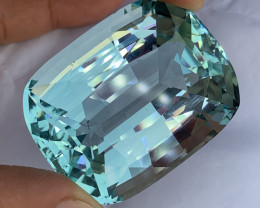 240.60 Huge piece of Natural Aquamarine Gemstone.