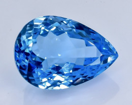 16.40 Crt Natural Topaz Faceted Gemstone.( AB 100)